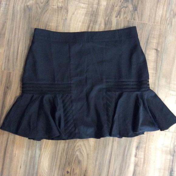 TCEC Dresses & Skirts - Never Worn Black Skater Mini Skirt Size Large